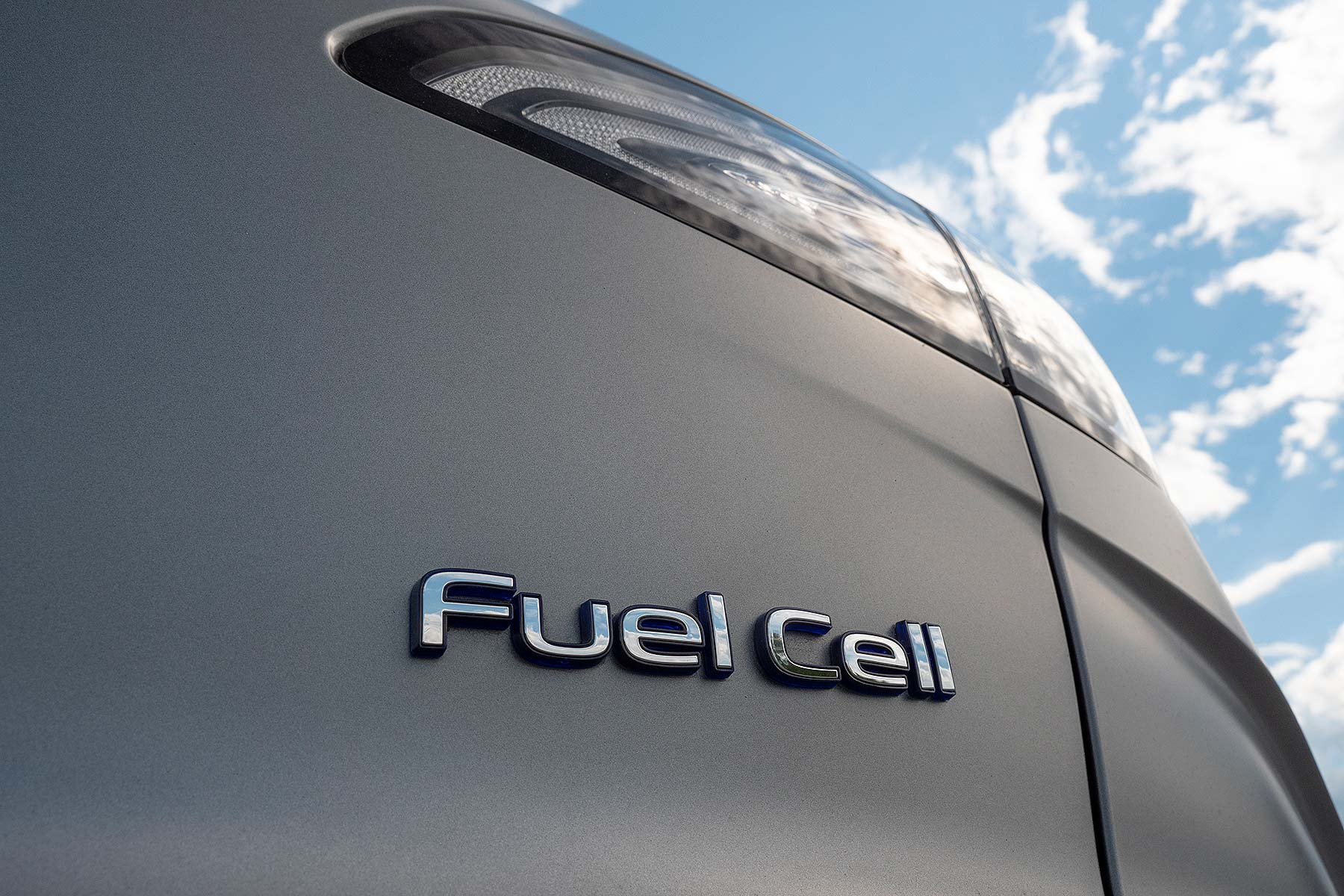 Hyundai Nexo hydrogen fuel cell car