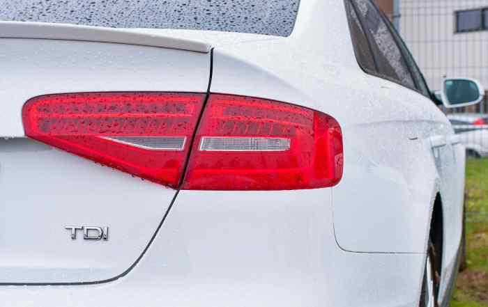 Audi diesel with a TDI badge