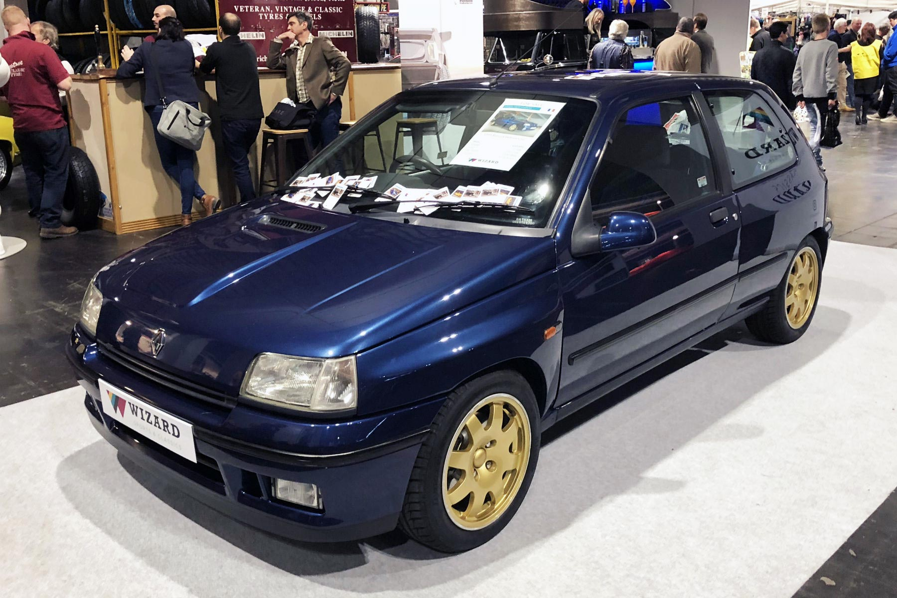 Renault Clio Williams at the 2018 NEC Classic Motor Show