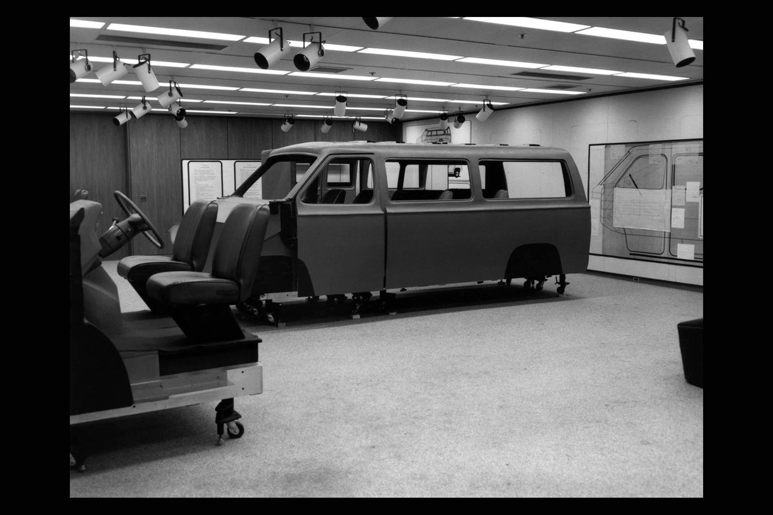 1970s Chrysler Van concept