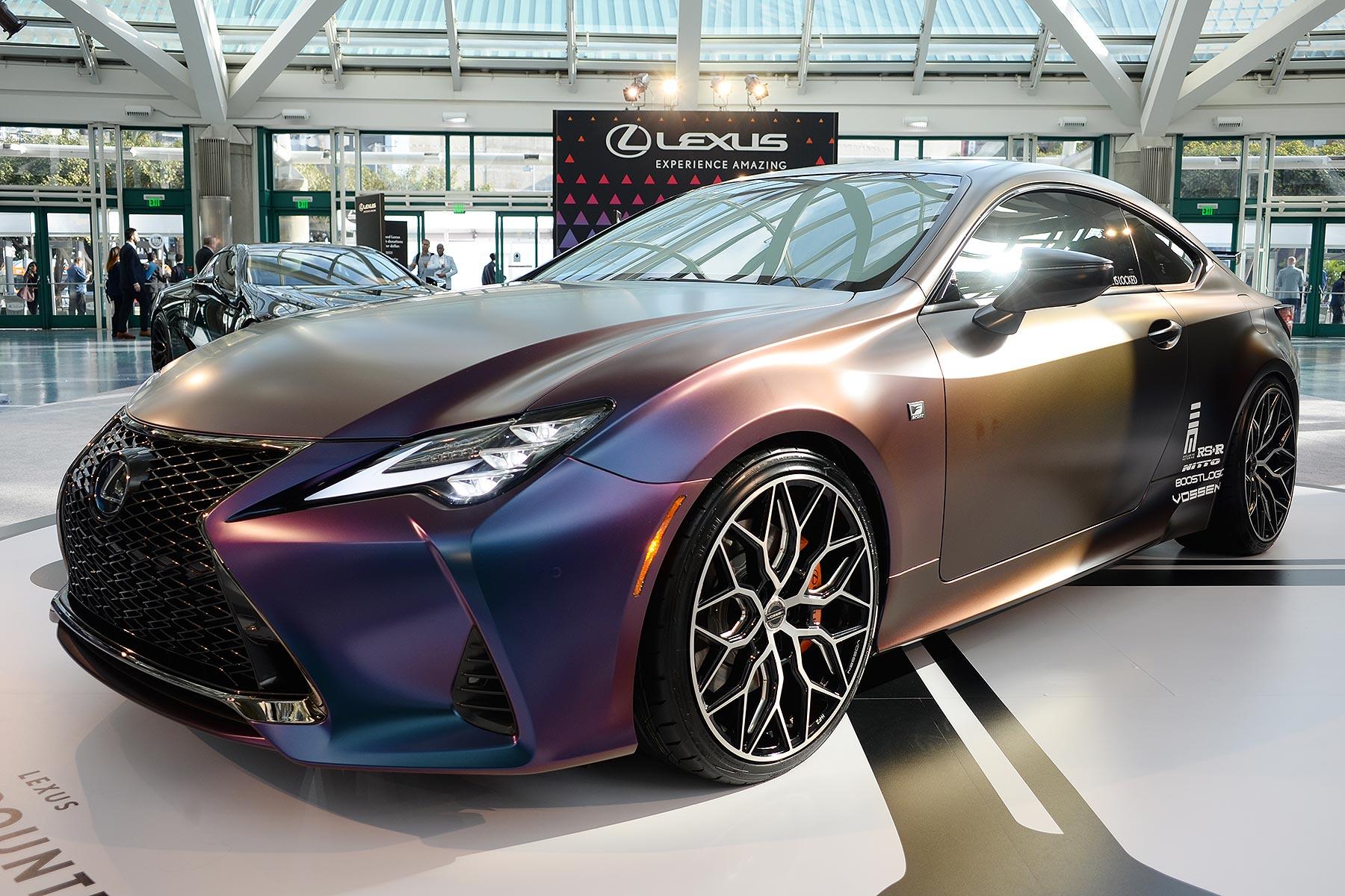 Modified Lexus RC