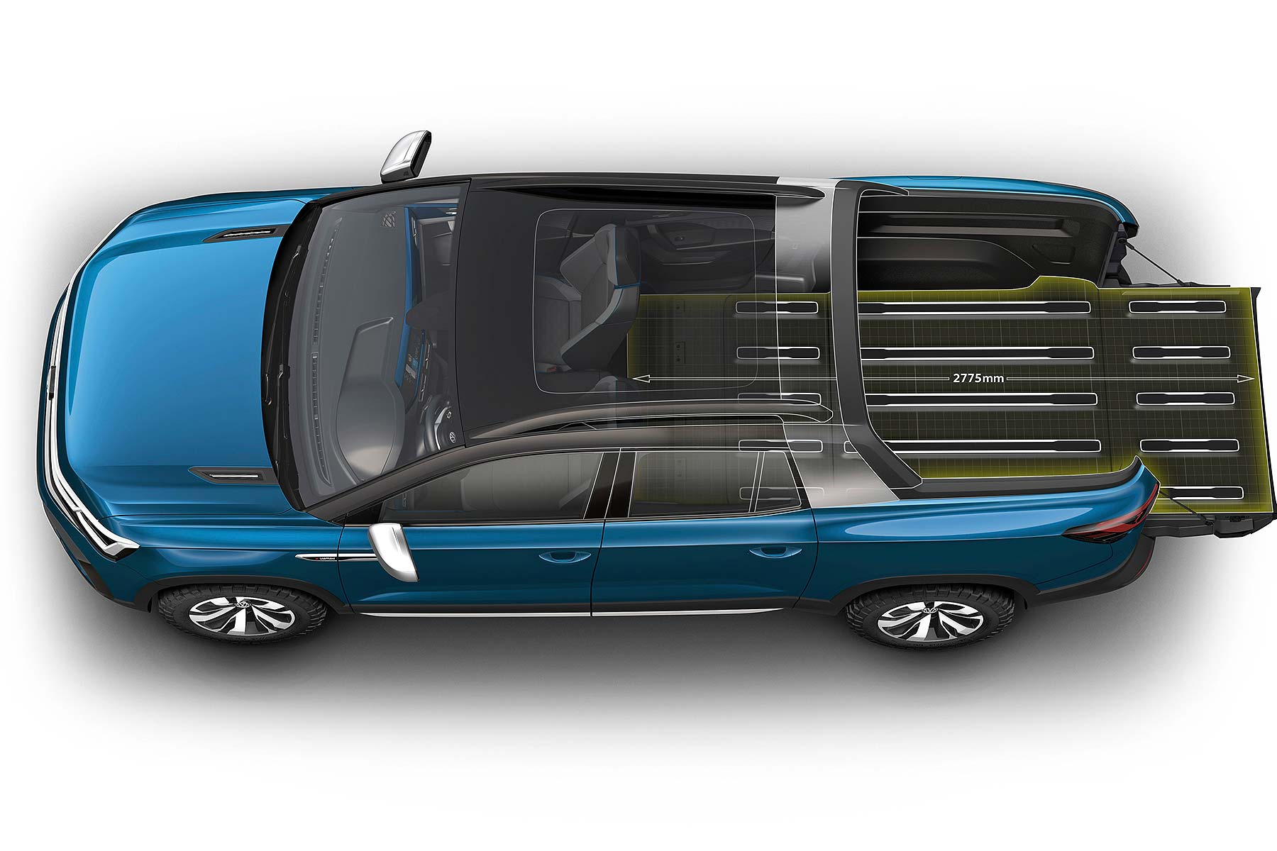 Volkswagen Tarok Concept pickup