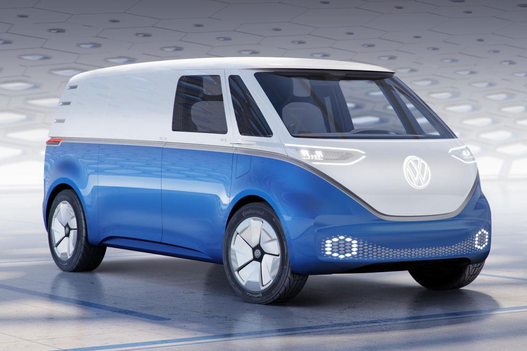 2019 Volkswagen ID Buzz Cargo Concept