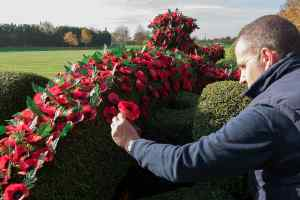 Williams and Royal British Legion mark Remembrance Sunday