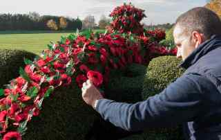 Williams and Royal British Legion mark Remembrance Sunday