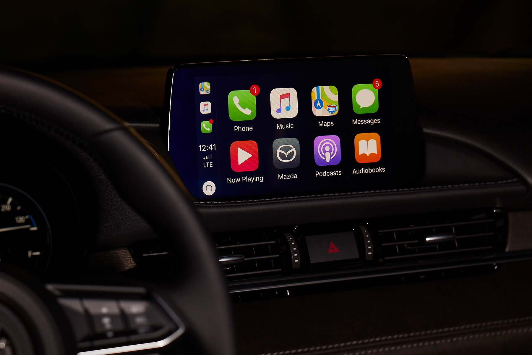 Mazda Connect Apple CarPlay