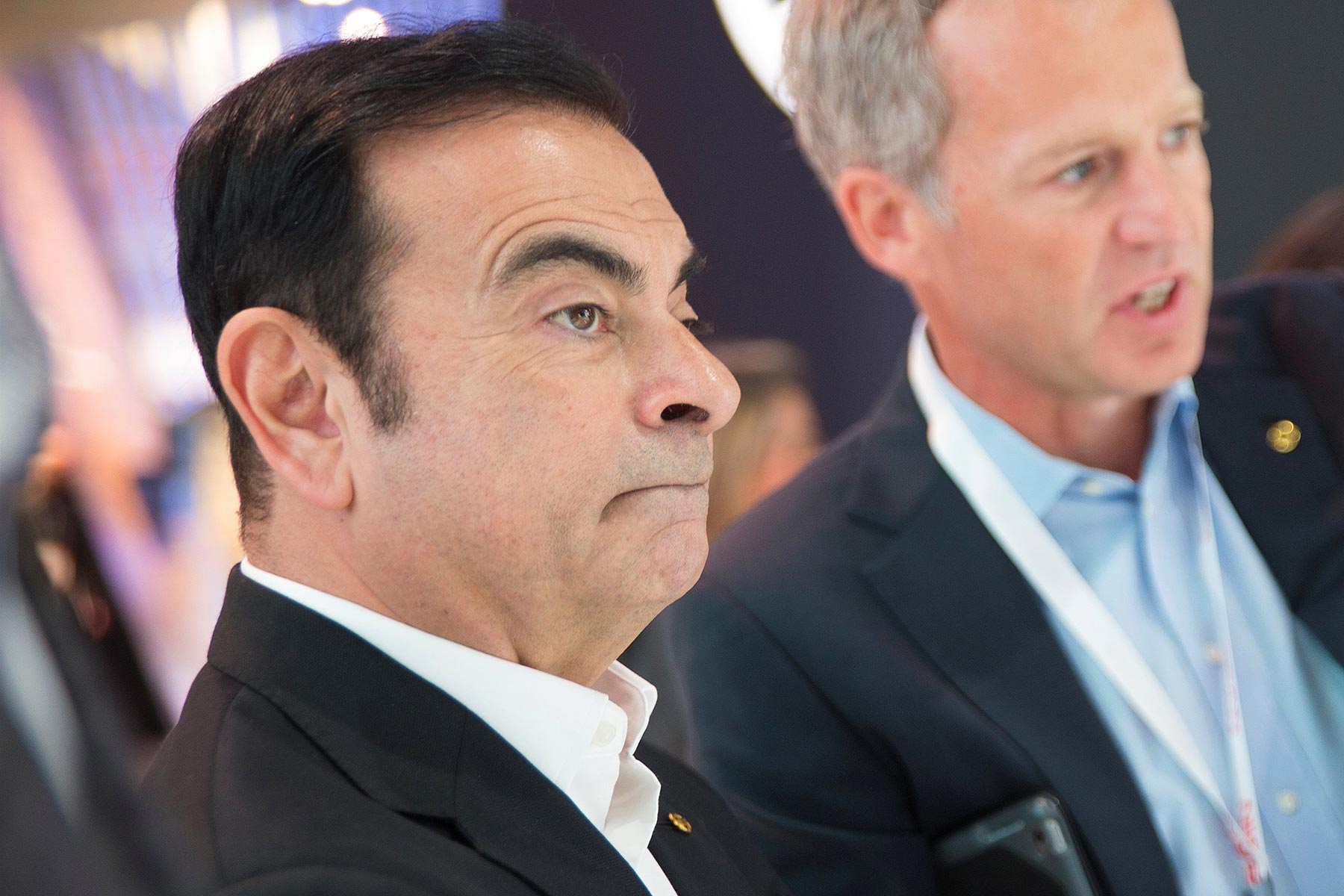 Nissan CEO Carlos Ghosn at CES