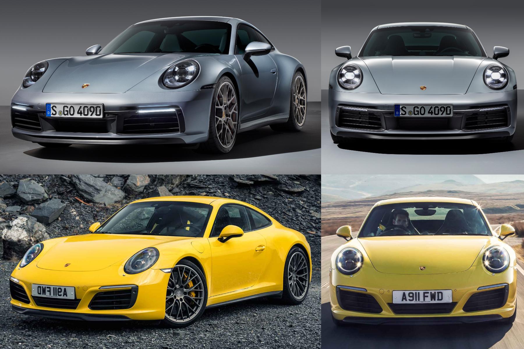 New Porsche 911 992 2019