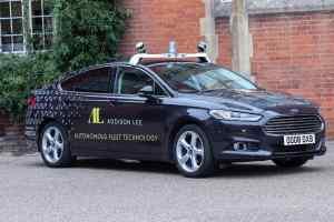 Addison Lee autonomous car testing Oxbotica