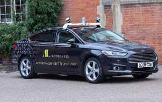 Addison Lee autonomous car testing Oxbotica