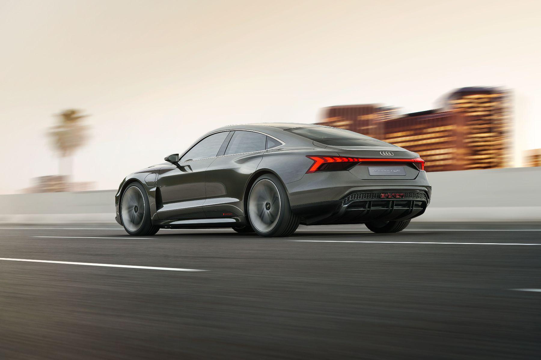 Audi E-tron GT LA Auto Show