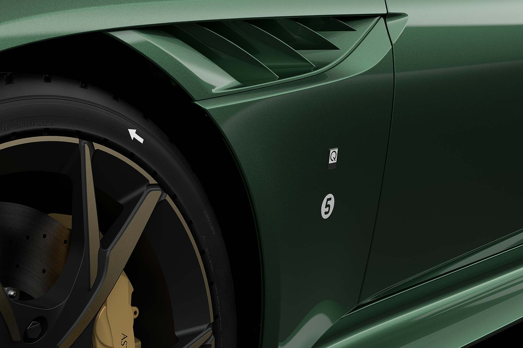 Aston Martin DBS Superleggera 'Q by Aston Martin Commission'