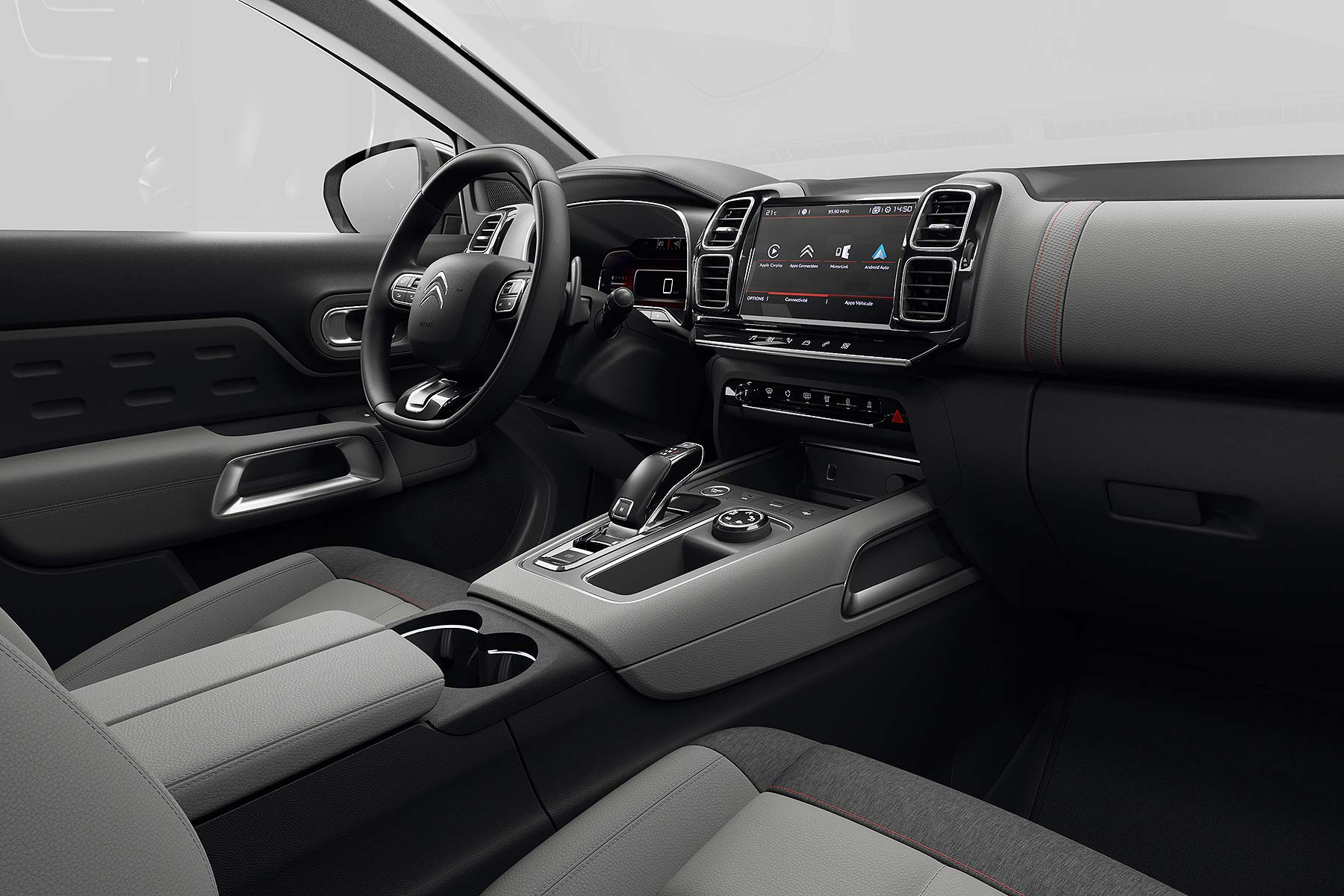 New 2019 Citroen C5 Aircross interior