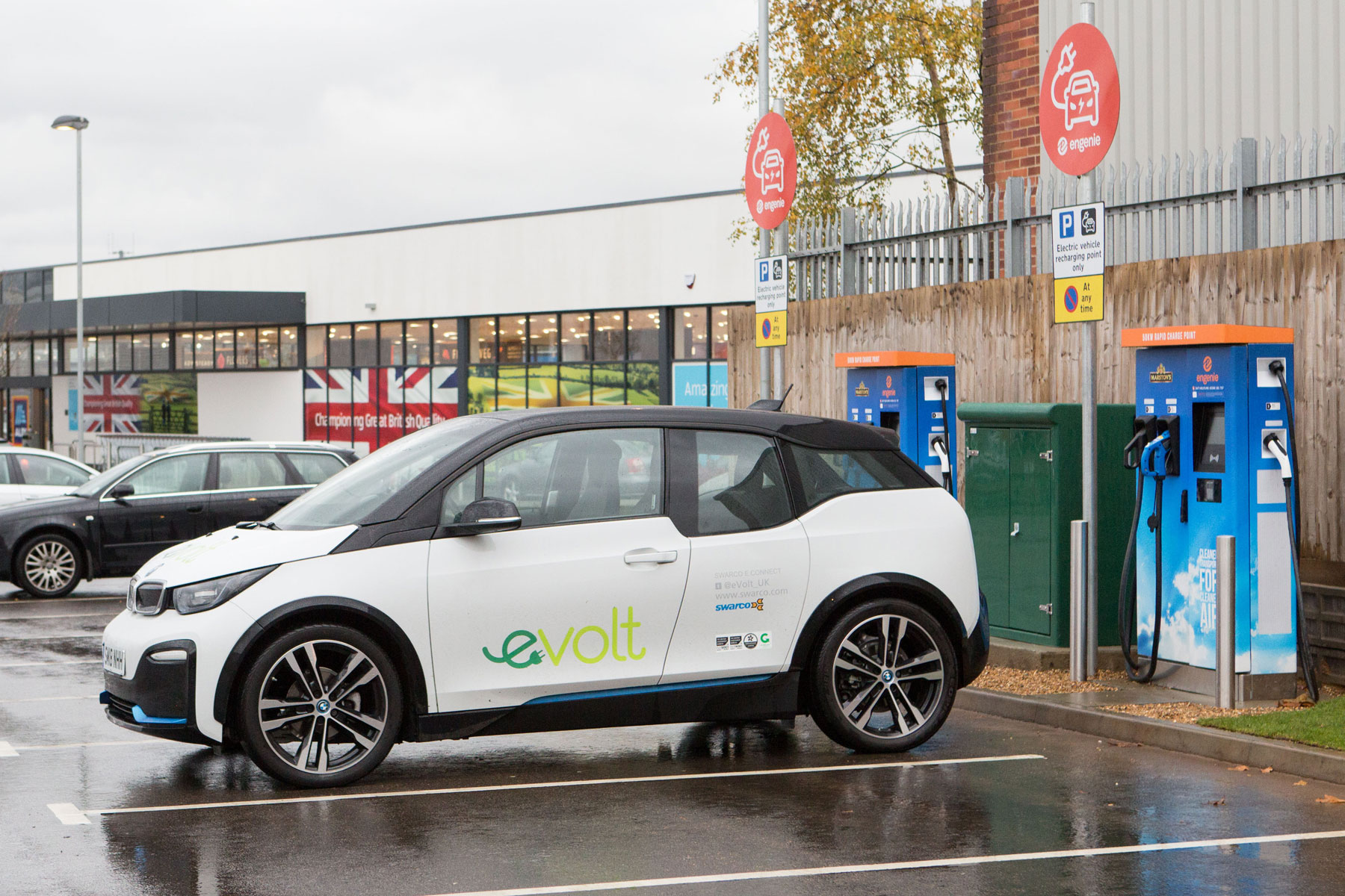 Engenie Marstons rapid charging