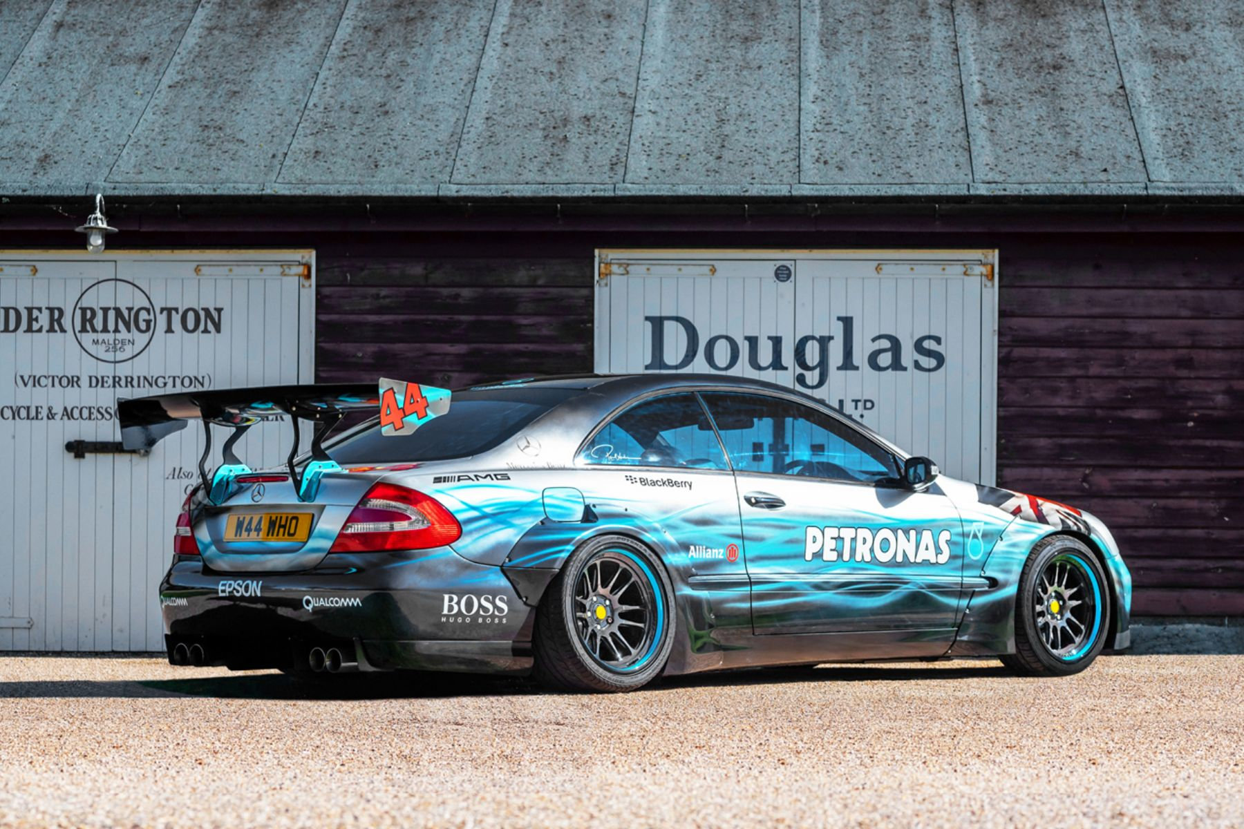 Lewis Hamilton art car tribute for sale