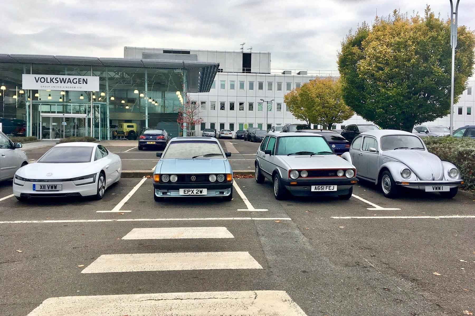 Volkswagen heritage cars