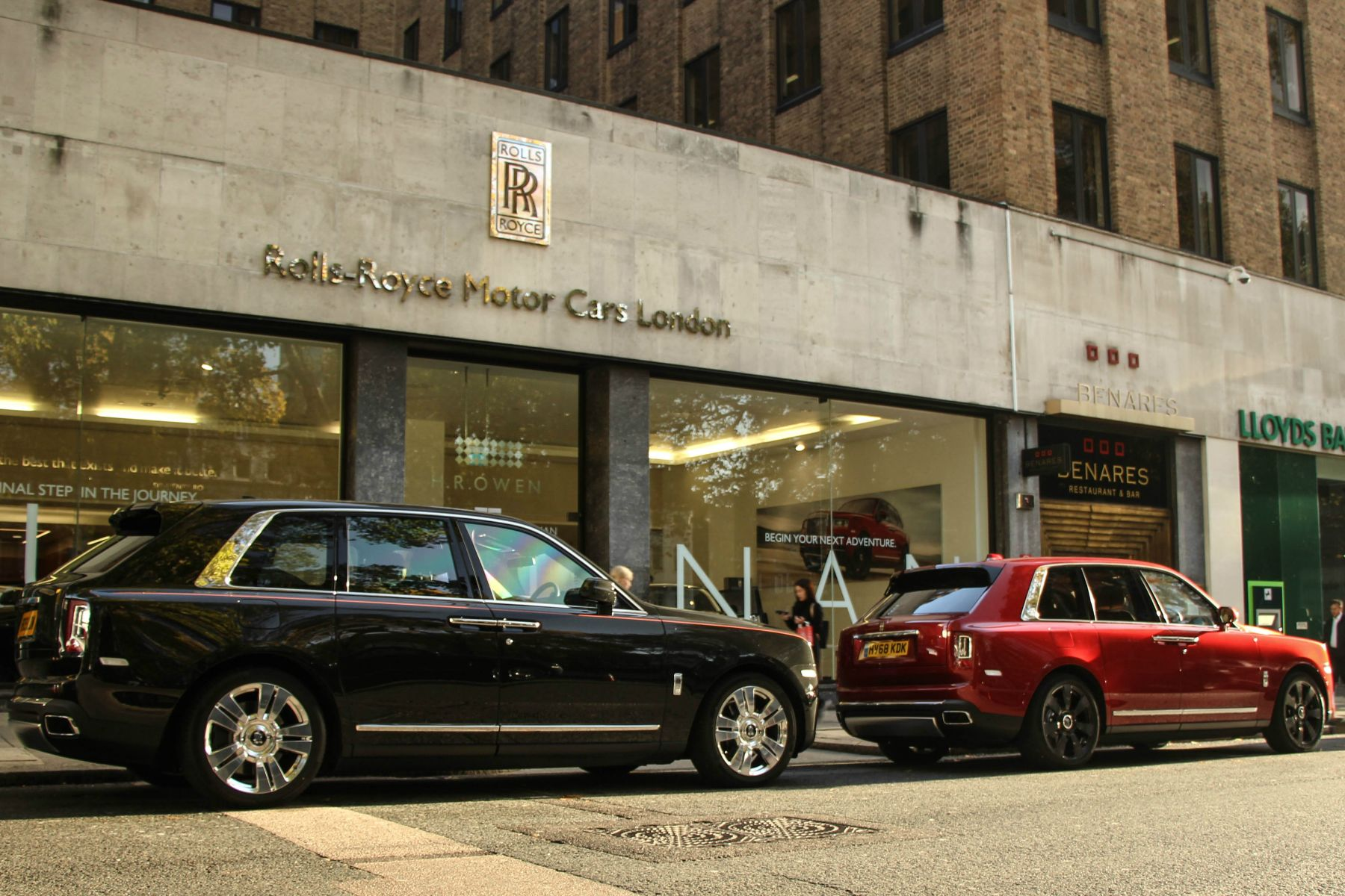 Rolls-Royce Cullinan in London