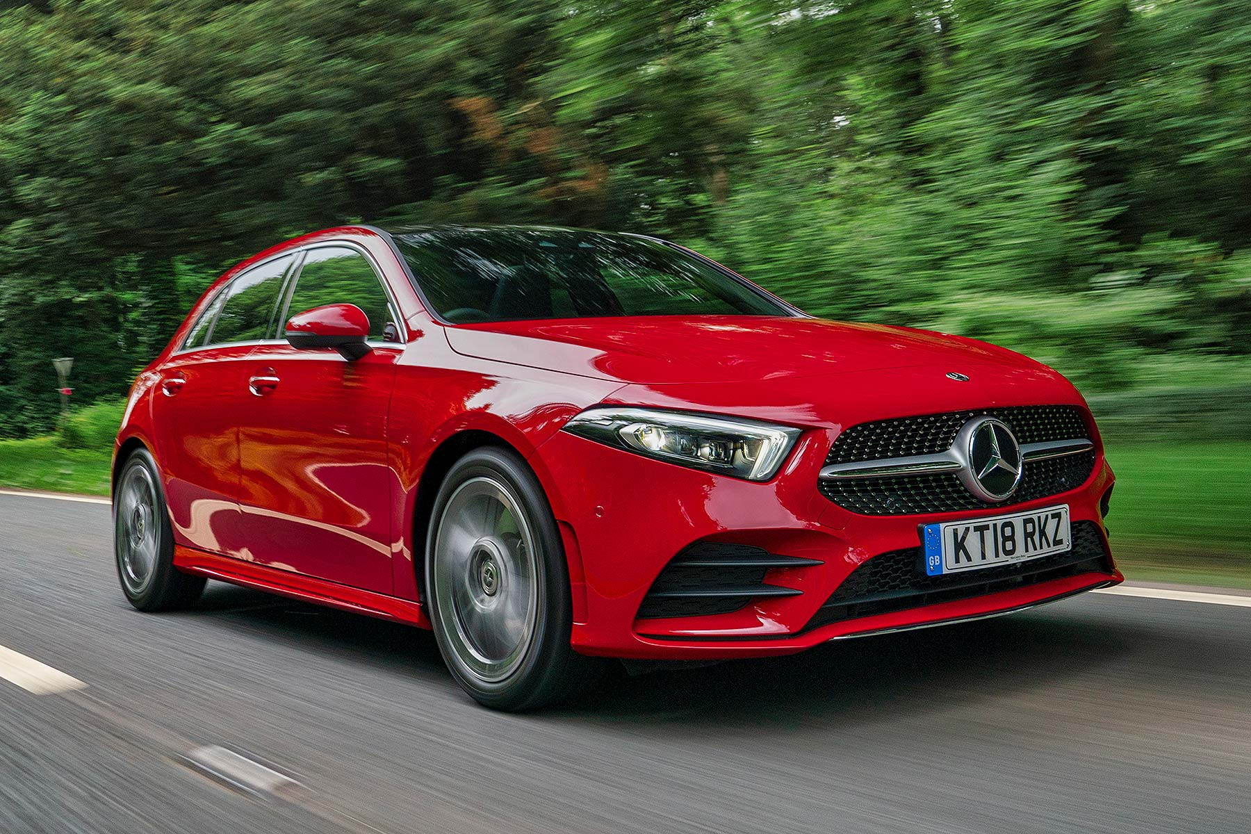 New Mercedes Benz A Class Clean Diesel Engines Will Cut Company