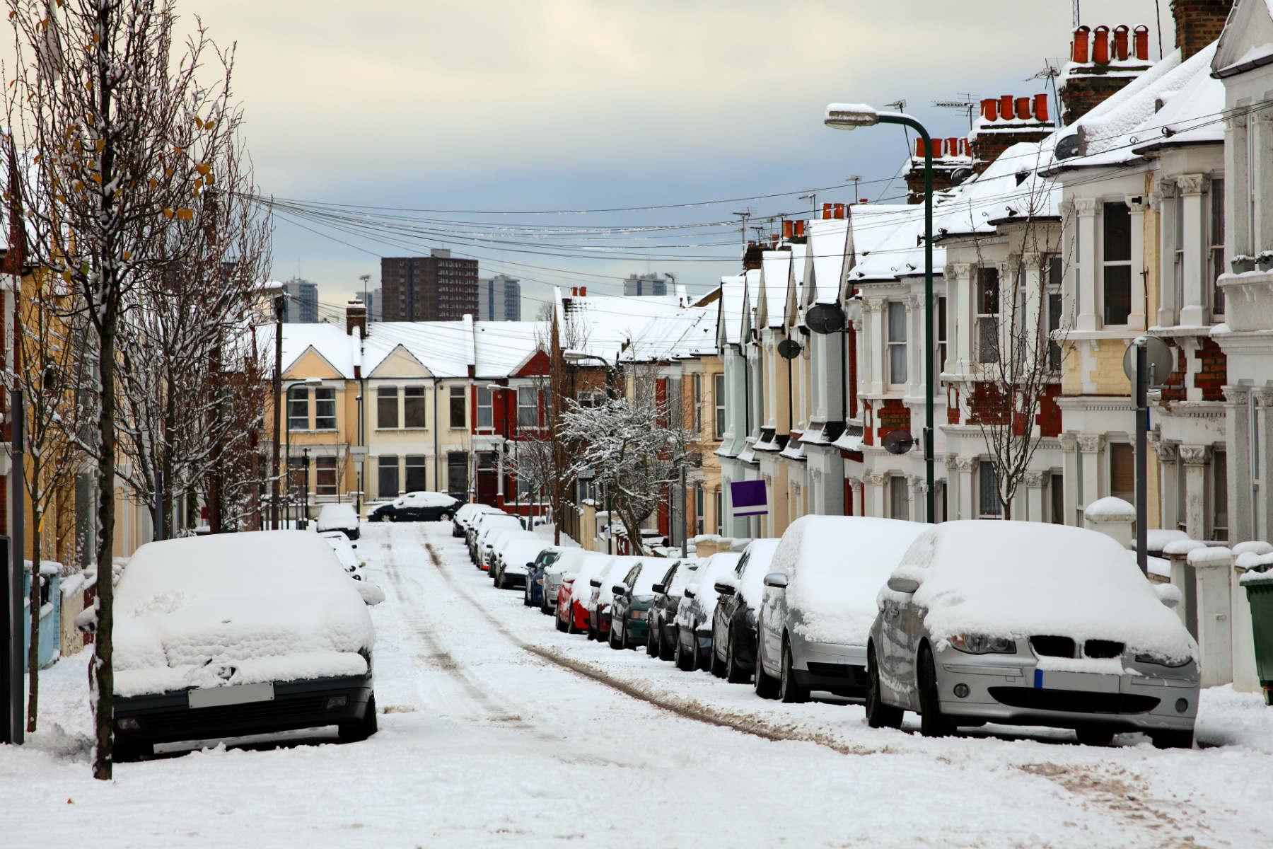London snow 2010