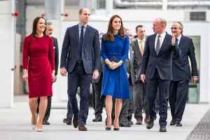 Duke and Duchess of Cambridge open McLaren's carbon fibre factory in Sheffield