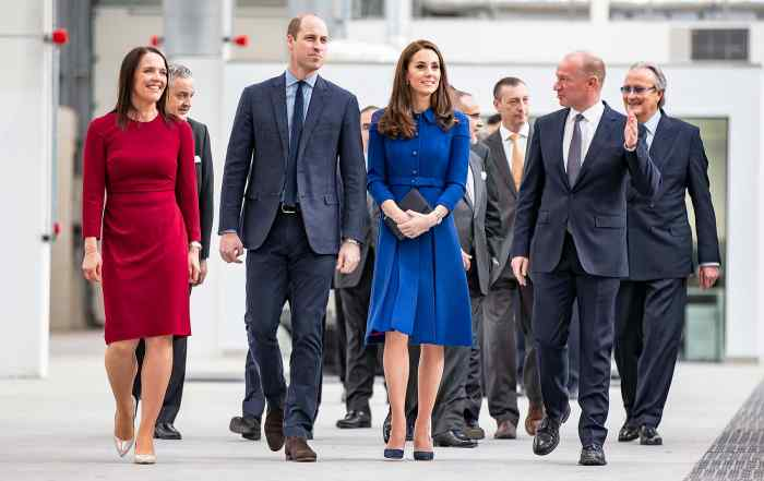 Duke and Duchess of Cambridge open McLaren's carbon fibre factory in Sheffield