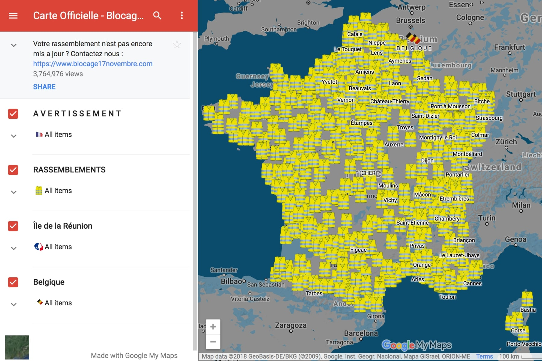 Map Of France Calais.Planned Fuel Protests Could Bring France To A Standstill