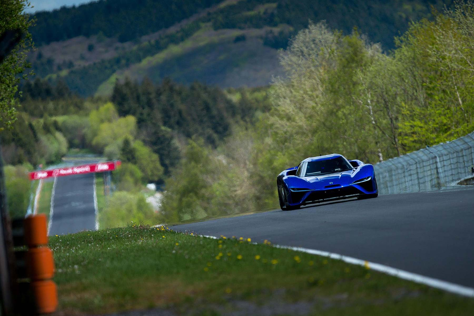 Nio EP9 at the Nurburgring