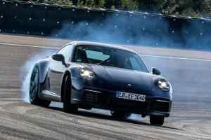 2019 Porsche 911 testing