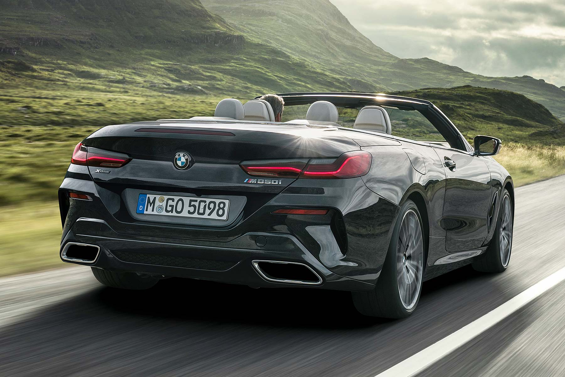 2019 Bmw M850i Xdrive Convertible Motoring Research