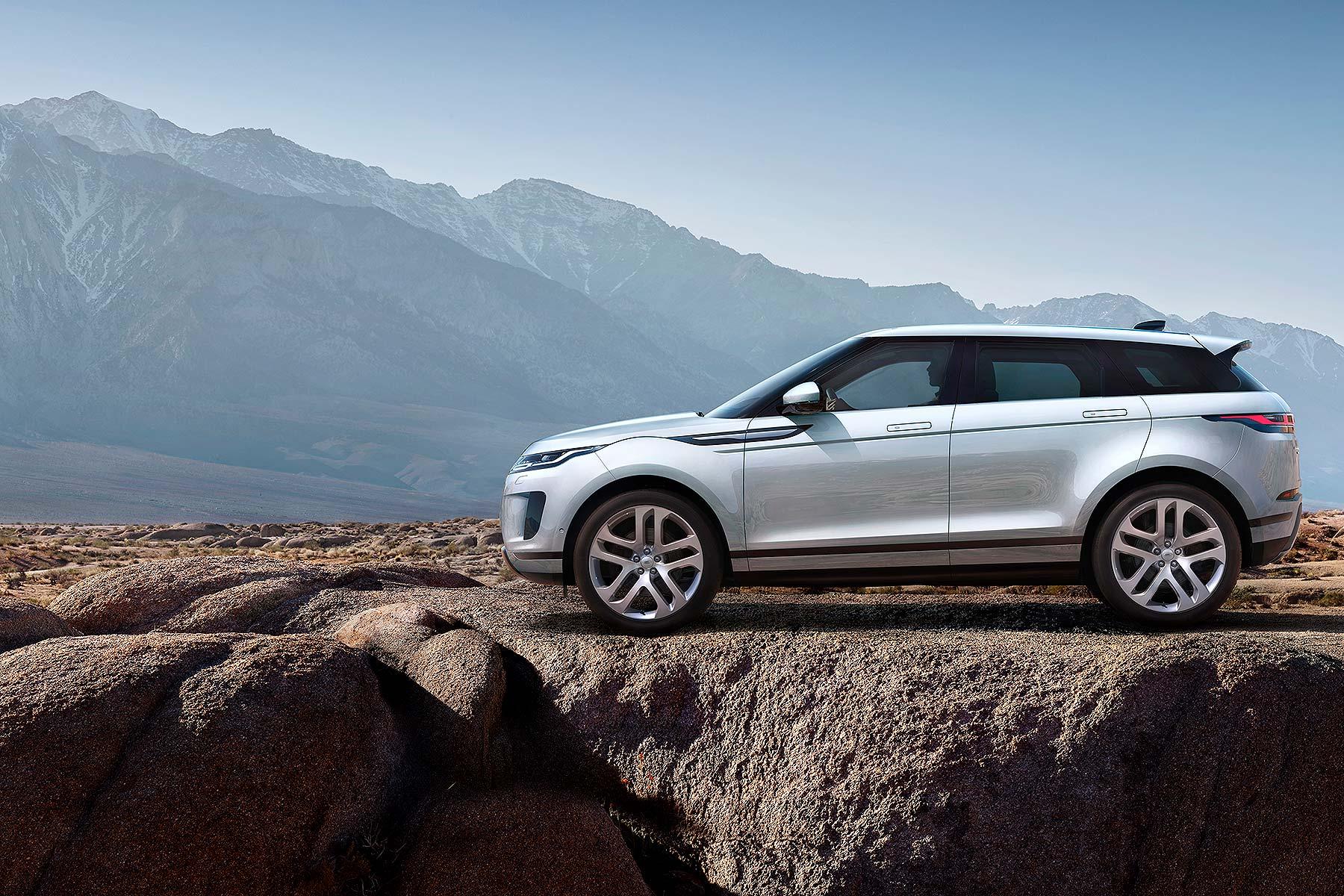 New 2019 Range Rover Evoque Prices And Specs Revealed