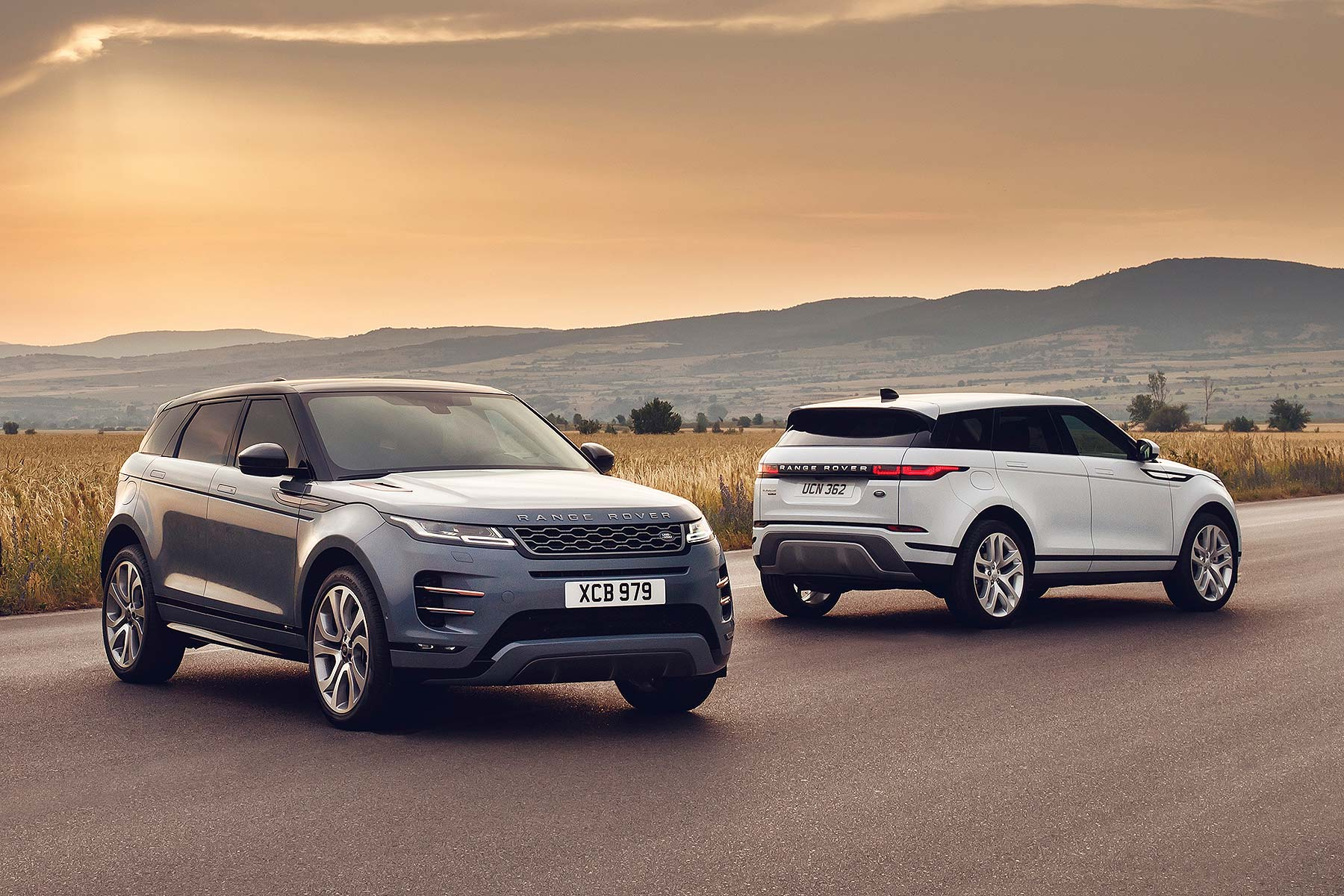 New 2019 Range Rover Evoque