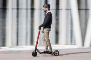 Seat and Segway eXS KickScooter electric scooter