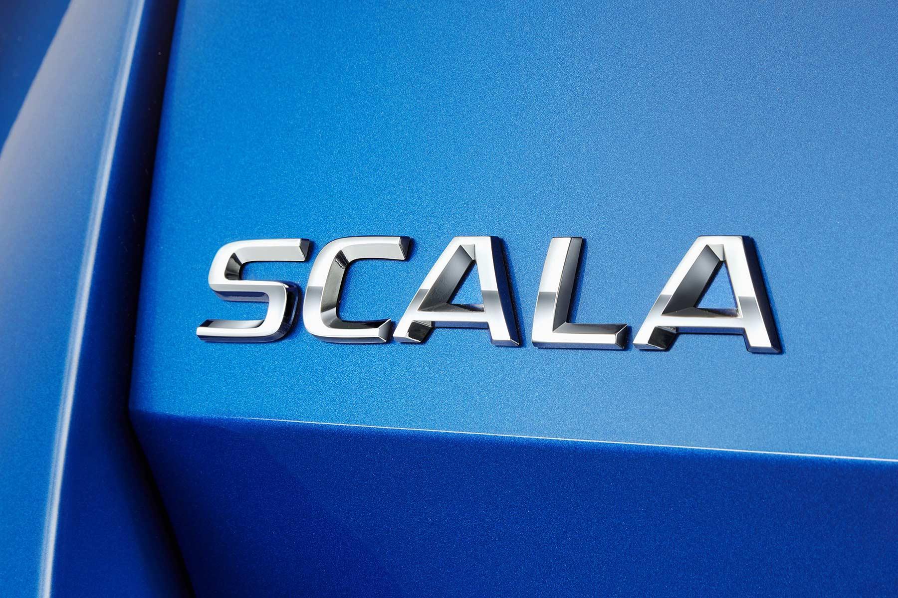 Skoda Scala badge