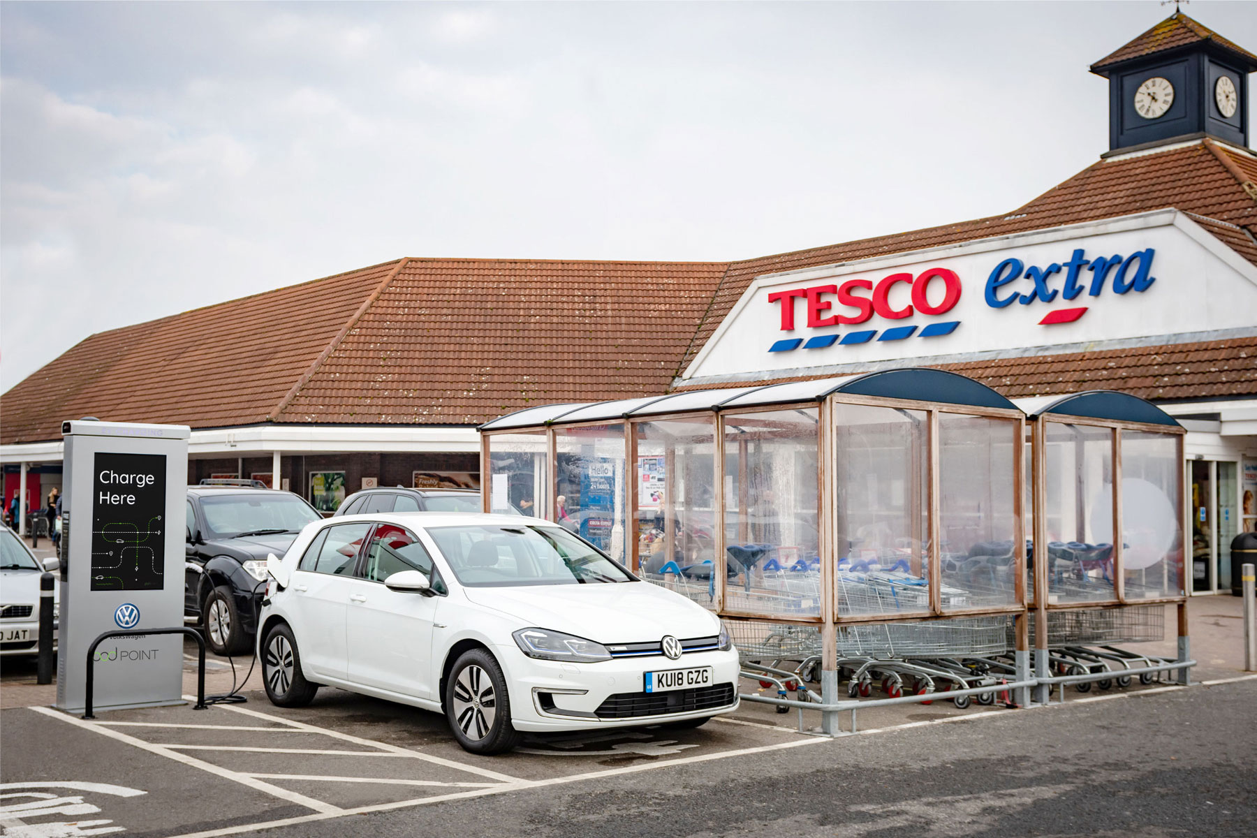 Tesco VW charging network