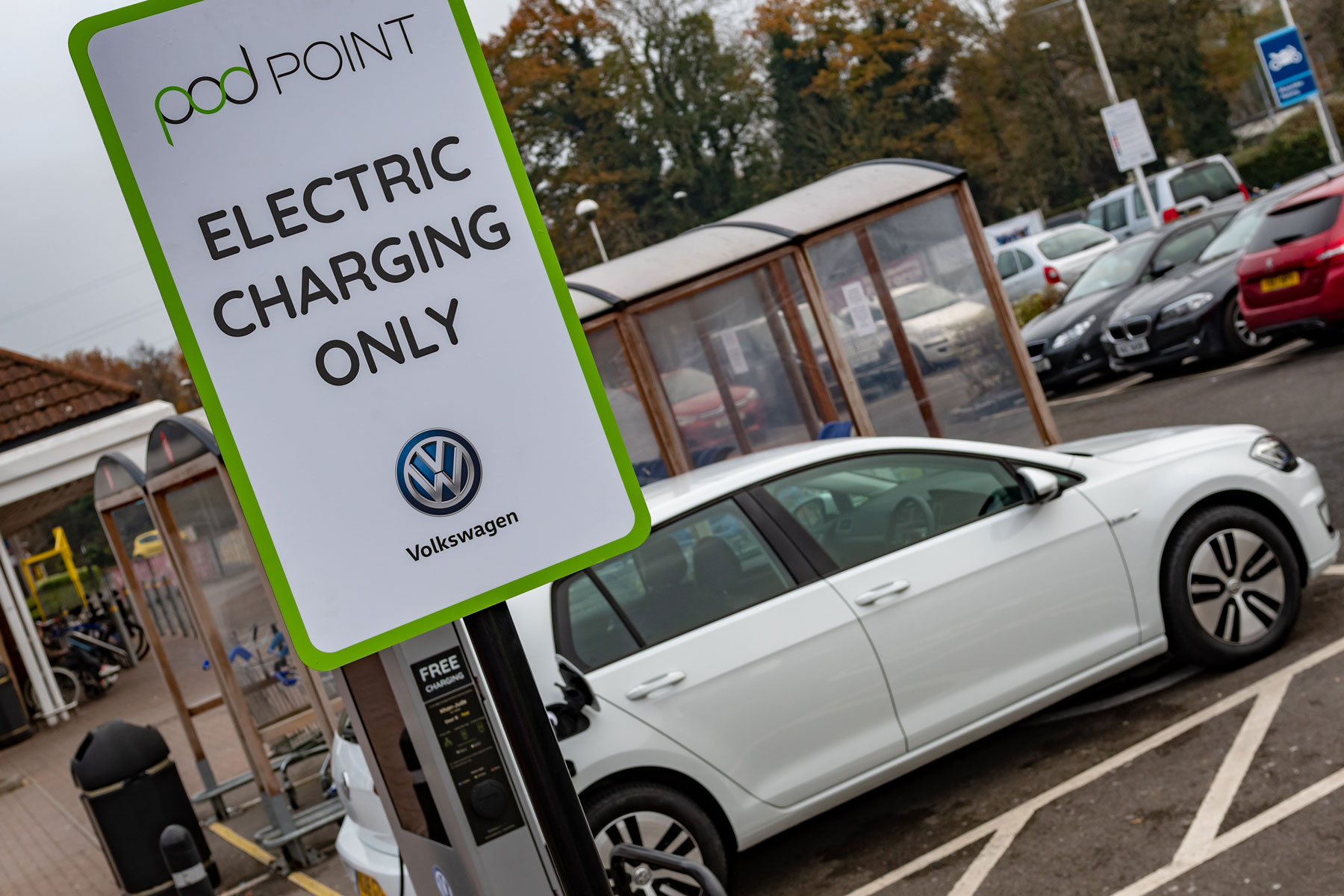 Volkswagen Tesco Pod Point