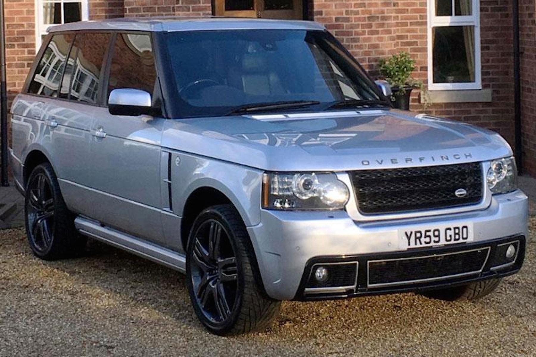 Wayne Rooney Range Rover
