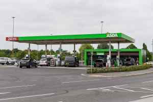 Asda fuel petrol filling station