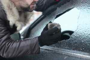 Car theft winter