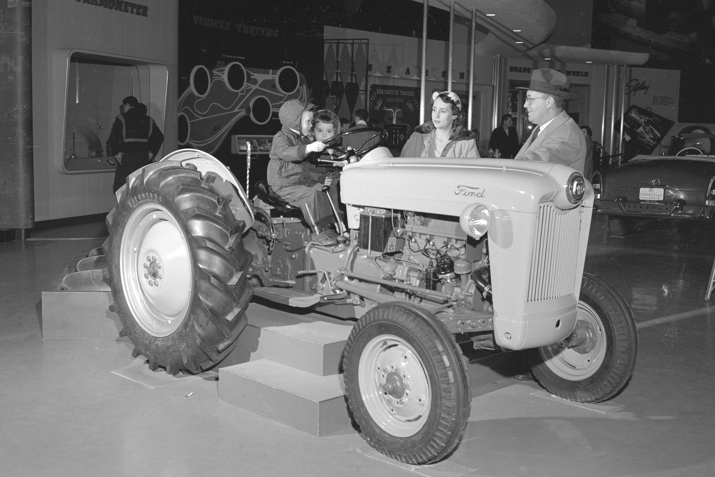 1953 Tractor display