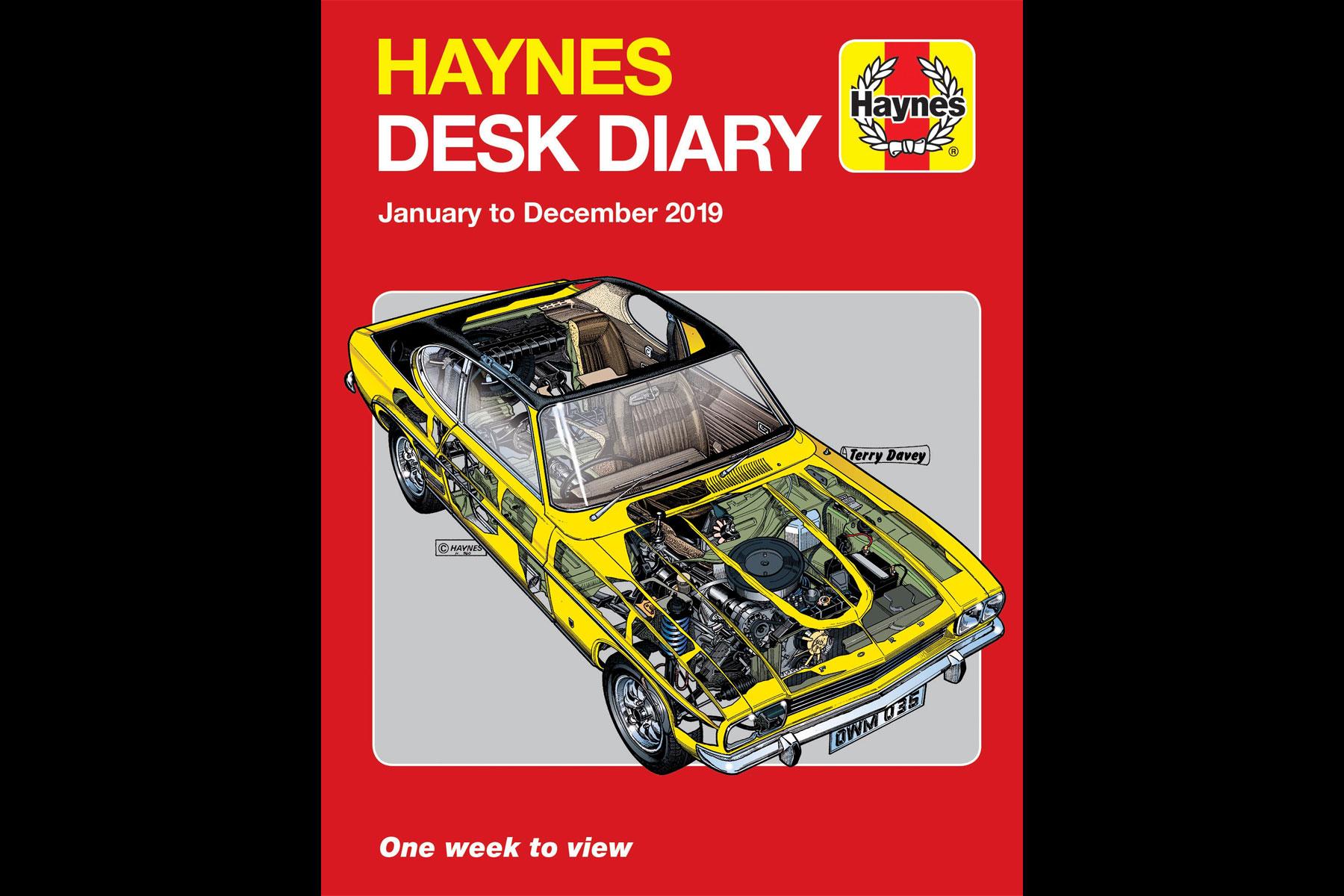 Haynes Desk Diary