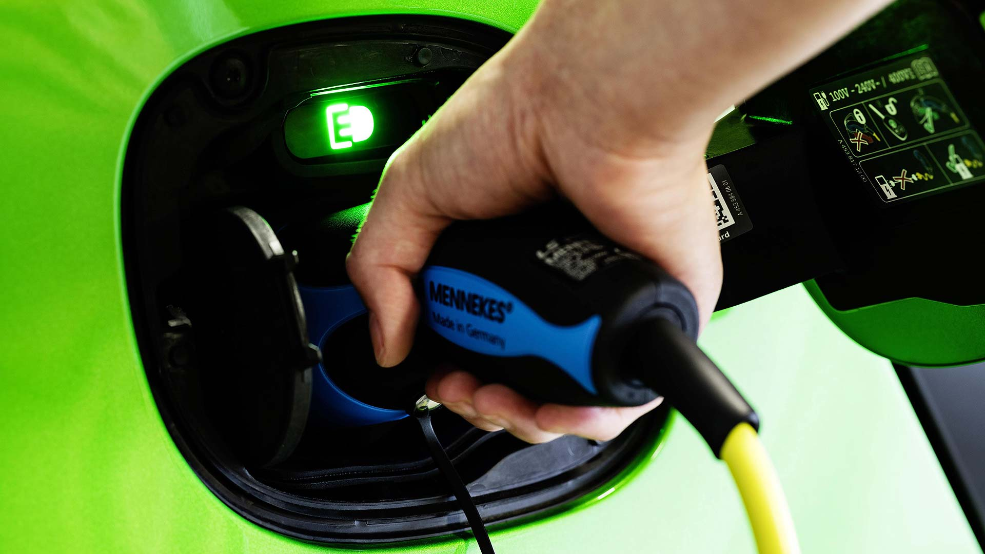 Smart electric car charger