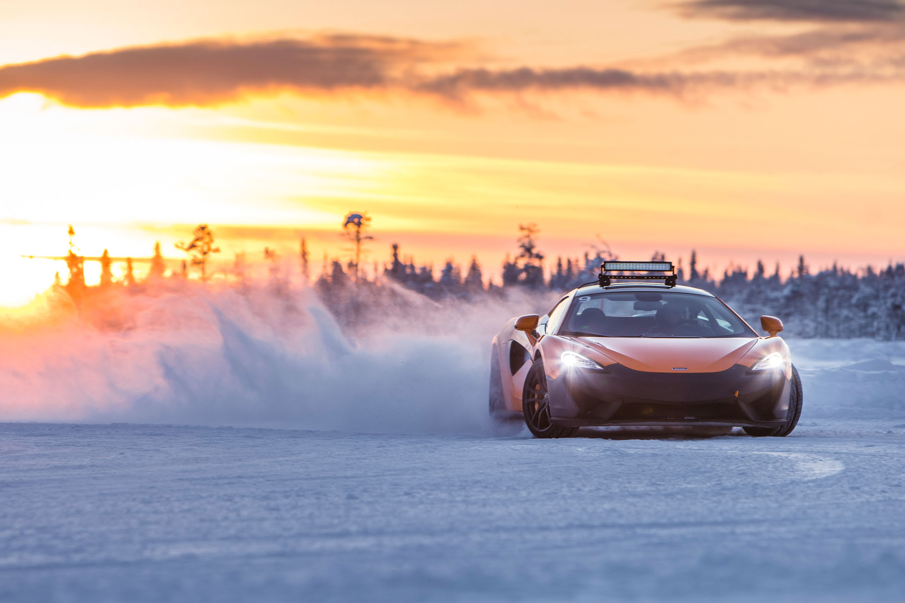 McLaren Arctic driving adventure