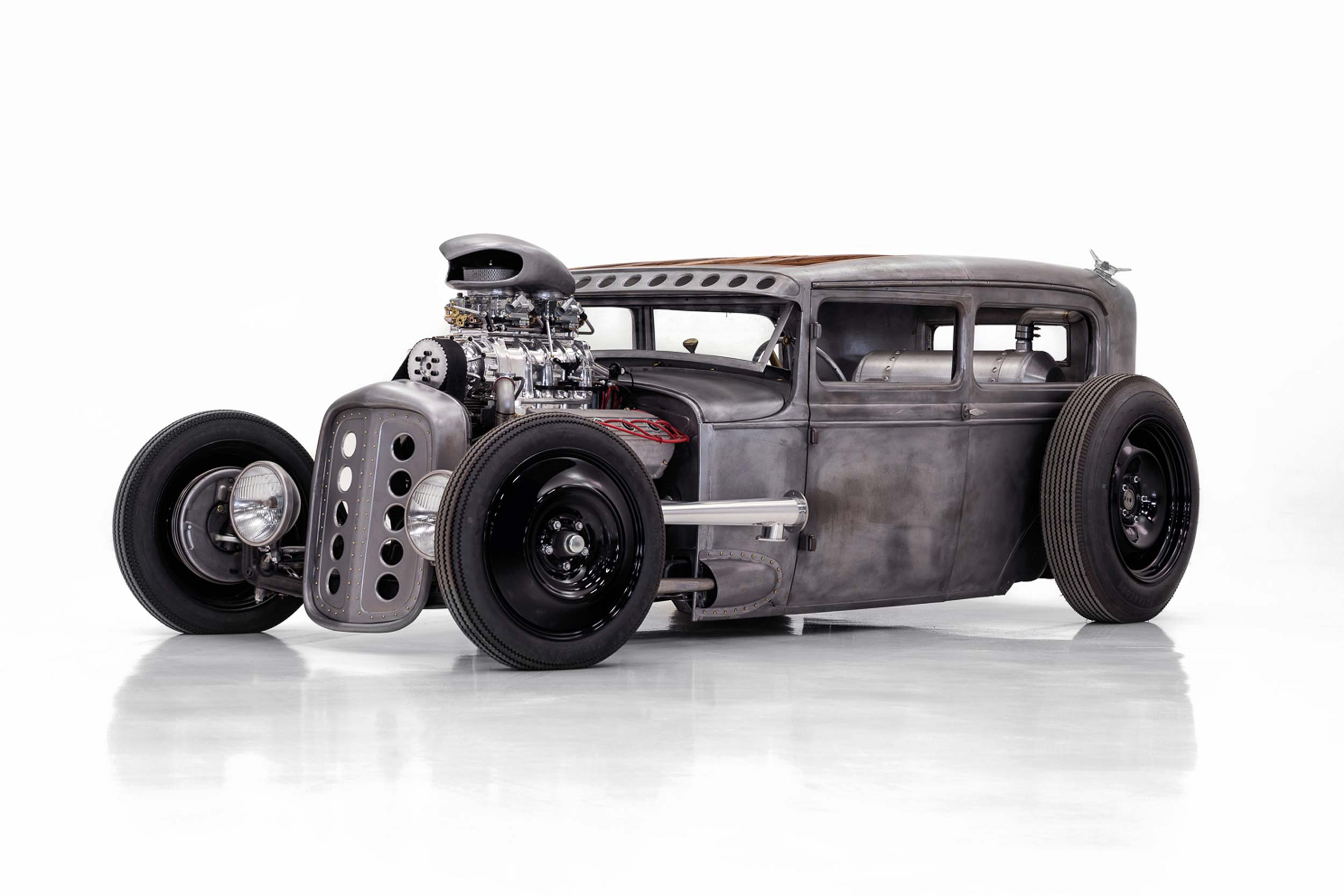 1930 Ford Model A front three quarter