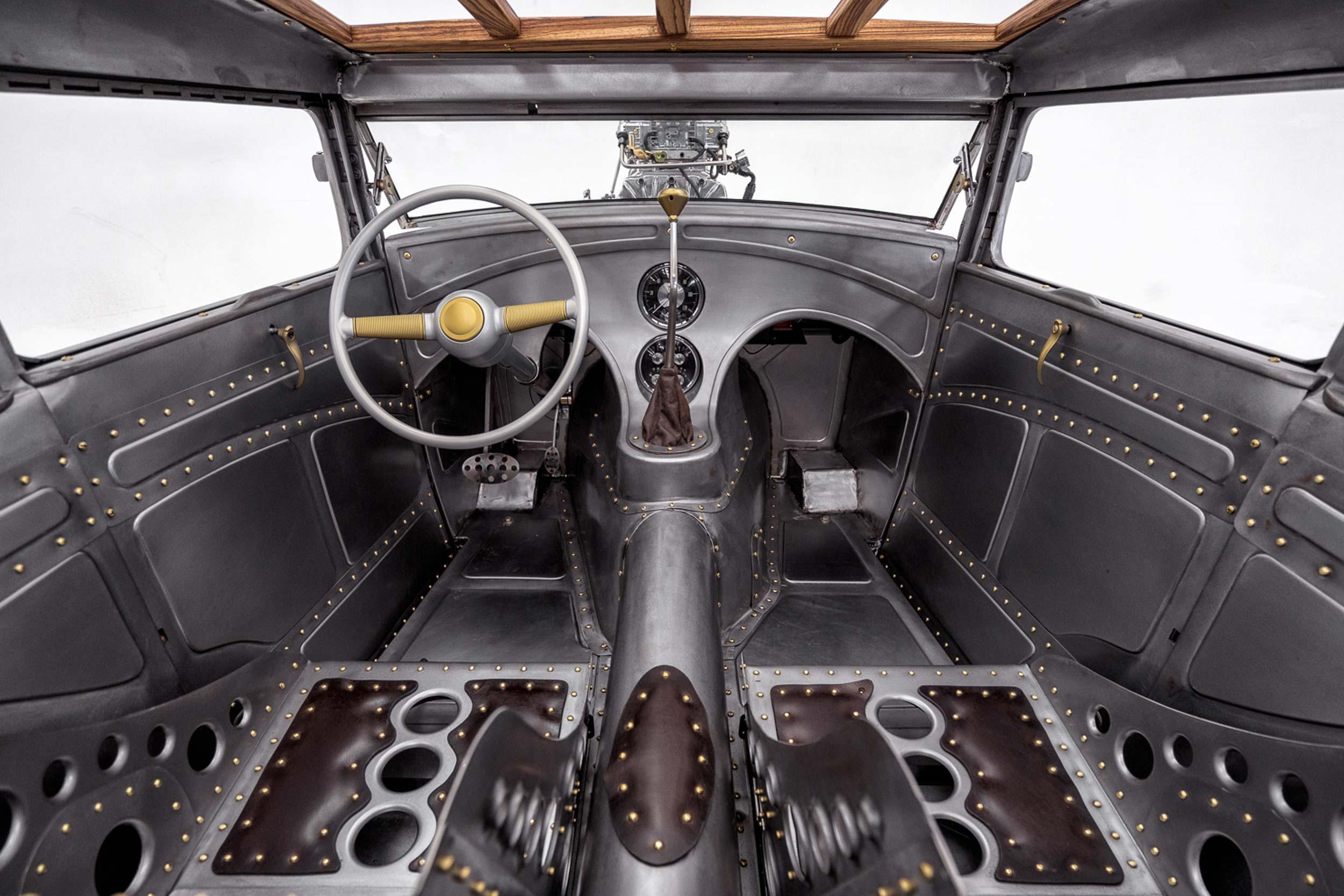 1930 Ford Model A interior