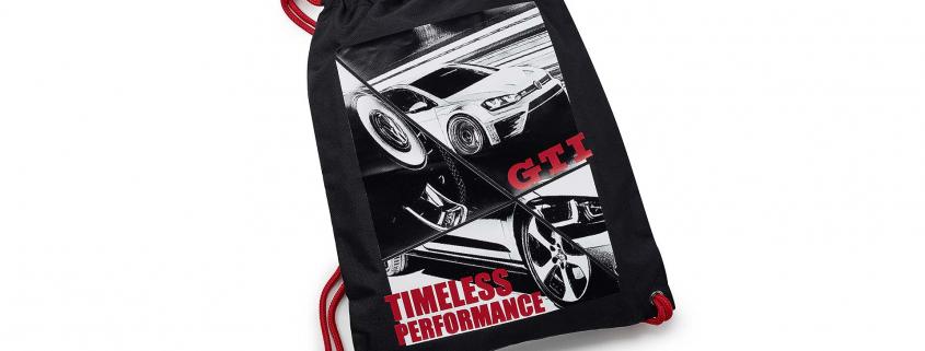 Volkswagen GTI gym bag