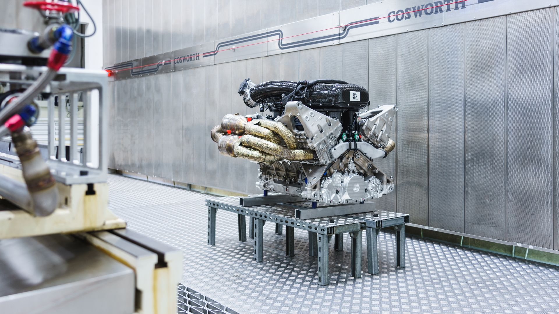 Aston Martin Valkyrie V12 Cosworth engine