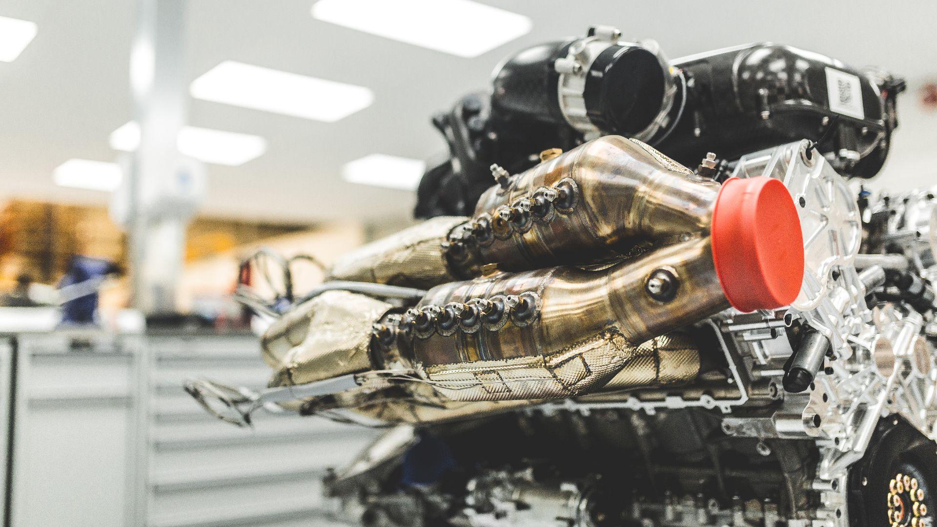 Aston Martin Valkyrie V12 Cosworth engine