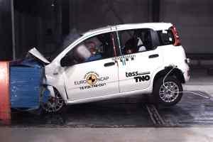 2018 Fiat Panda Euro NCAP zero stars