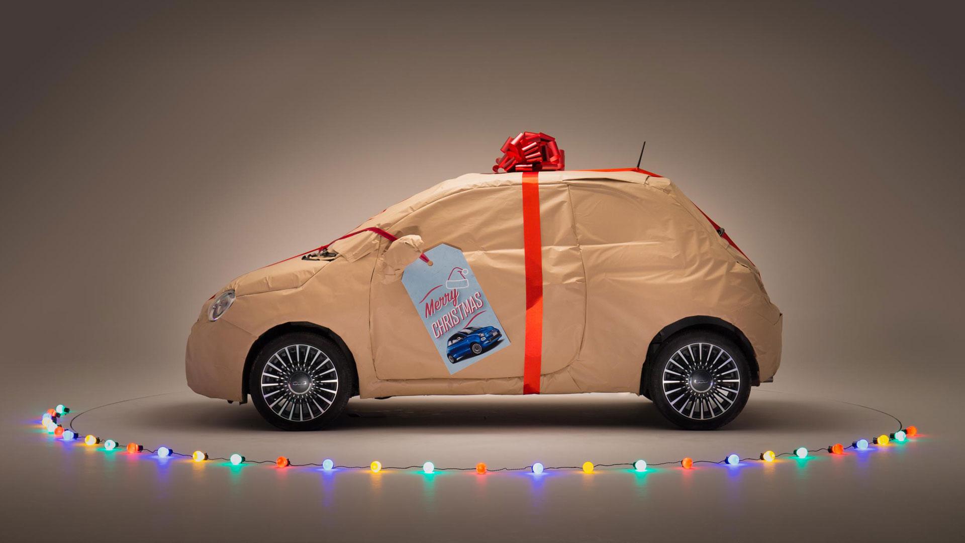 Fiat 500 wrap