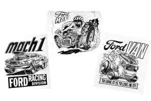 Ford Man, Van, and Mach 1 by Roth Studios, 1962